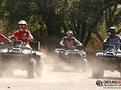 Enjoy a gentle but exciting quad bike safari around a scenic game farm in the Cradle of Humankind near Johannesburg. These quad bikes or all-terrain vehicles (ATV) are the perfect vehicles for game-viewing. They're easy to drive and, if driven responsibly, have less impact on the environment than a standard 4x4.
