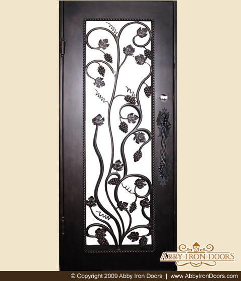 Abby Iron Doors & 27 best Wine Cellar Doors images on Pinterest | Cellar doors Wine ... pezcame.com