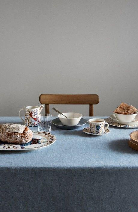 Iittala Taika tableware. Both modern and rustic