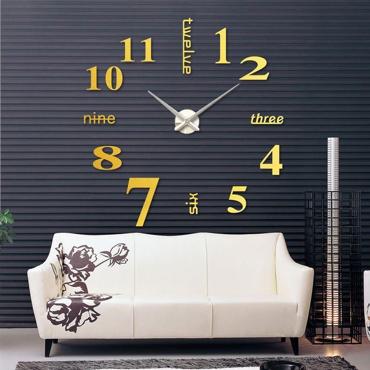 Fancy - Glass Wall Clock Decal