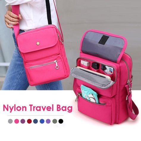 Women Nylon Travel Passport Bag Crossbody Travel Bag Useful Shoulder Bag is Worth Buying - NewChic