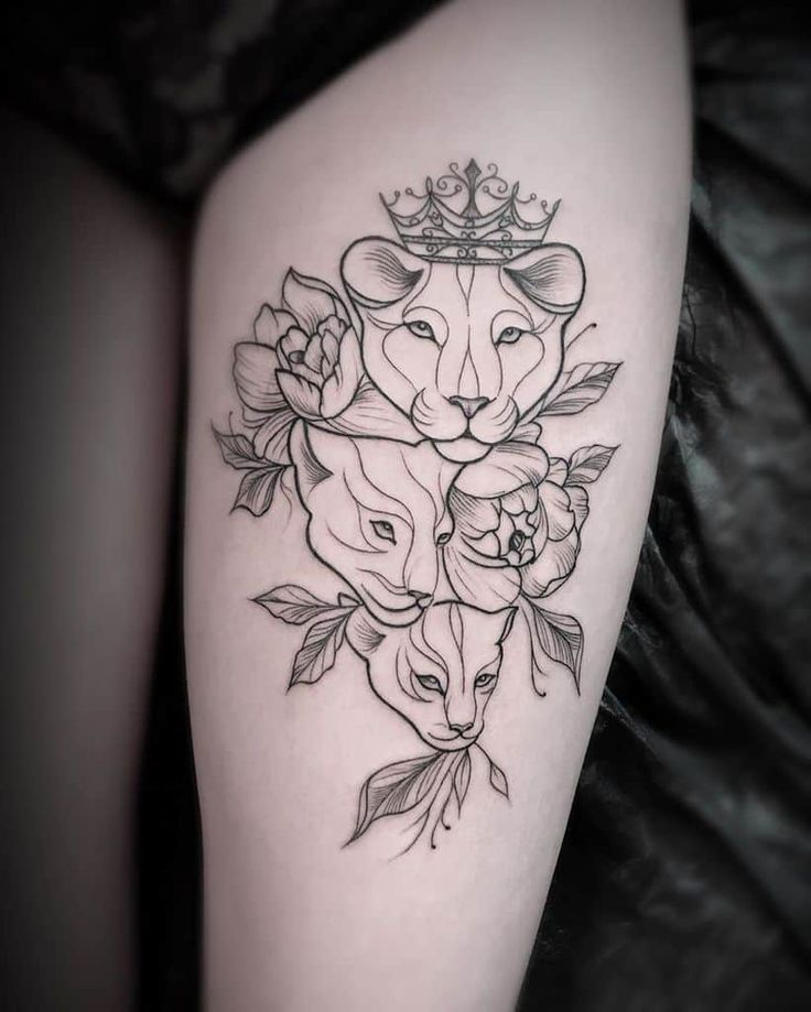 Top 91 Lioness Tattoo Ideas [2020 Inspiration Guide] - Next Luxury in 2020 | Lioness tattoo, Tattoos, Watch tattoos