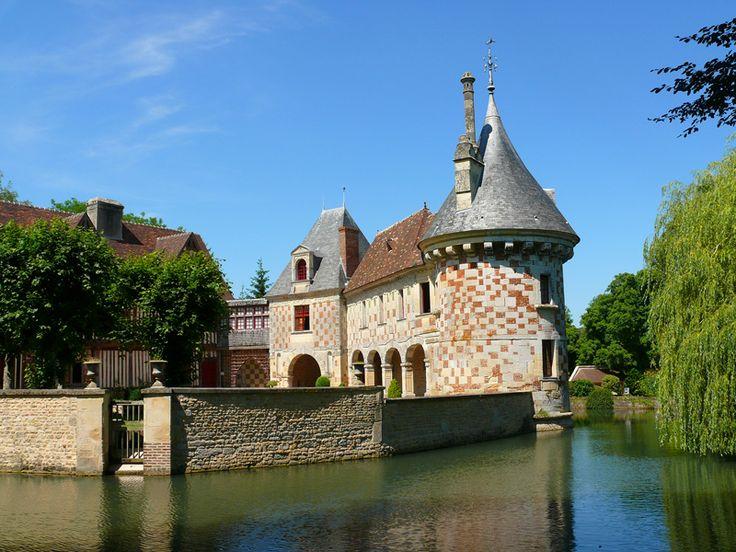 Château de Saint Germain de Livet, près de Lisieux Calvados
