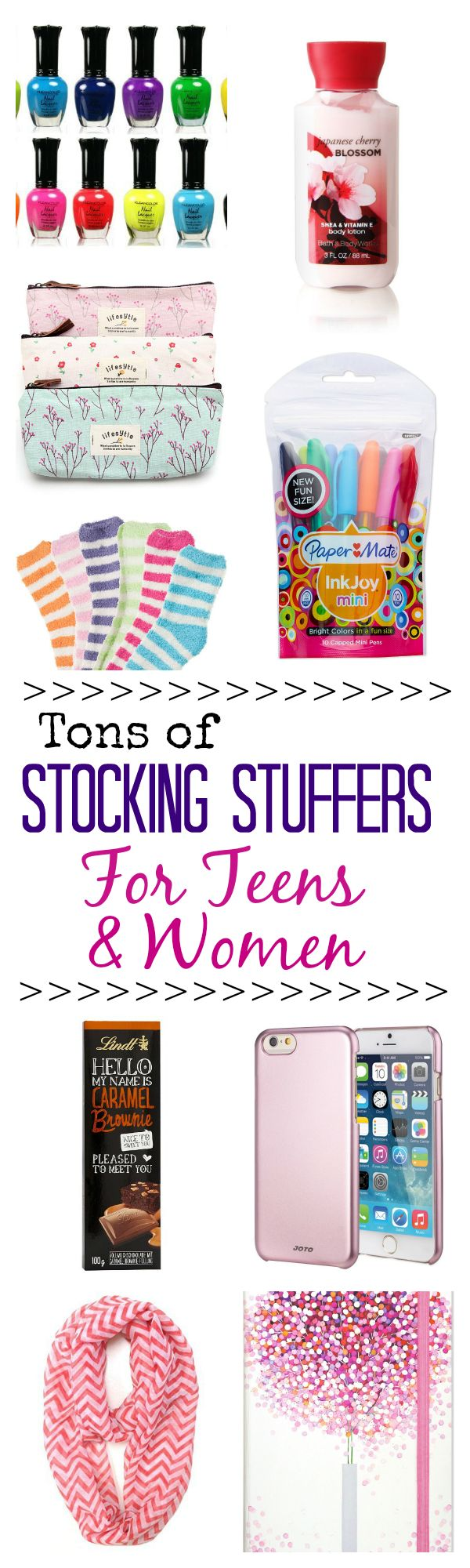 Ladies Christmas Presents Part - 27: HUGE Stocking Stuffer Ideas List