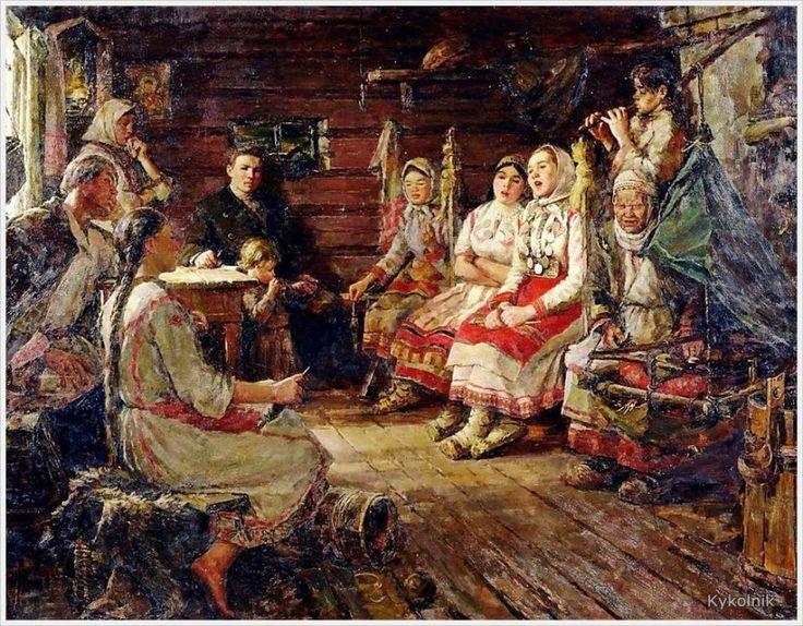 Кипарисов Петр Гаврилович (Россия, 1928 - 1987) «Песня.