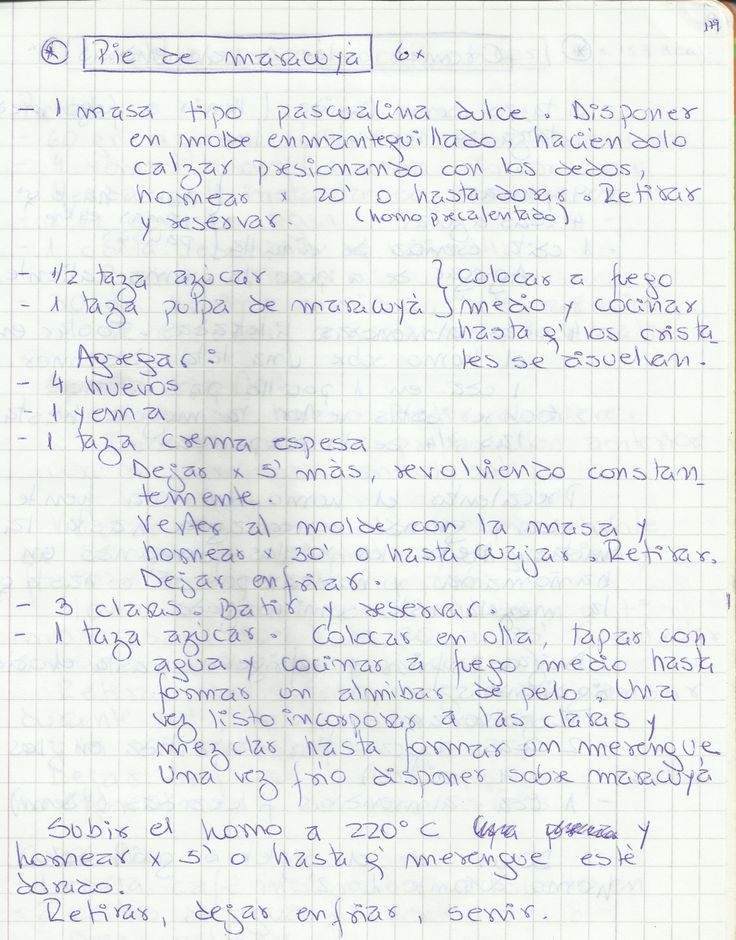 PIE DE MARACUYA   #DULCE #POSTRES #PIE #MARACUYÁ