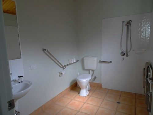 2 bedroom disabled access bathroom (partial view)