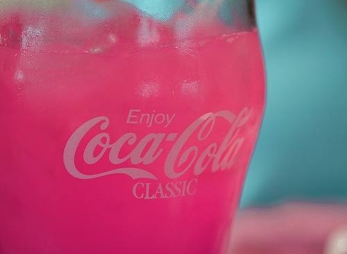 pink coke...: Coca Cola, Pink Coke, Color, Food, Pink Coca, Cocacola, Things, Pretty, Drinks