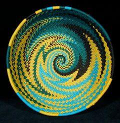 Zulu telephone wire baskets