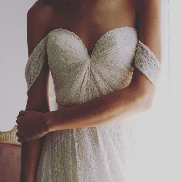 True Sweetheart - Dreamy Off-the-Shoulder Wedding Dresses - Photos
