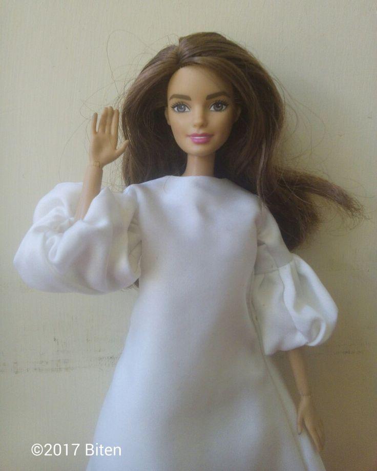 Barbie White Dress, Made to Move Barbie.