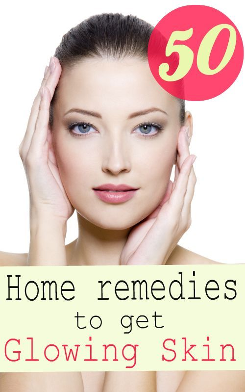 50 Simple Home Remedies To Get Glowing Skin