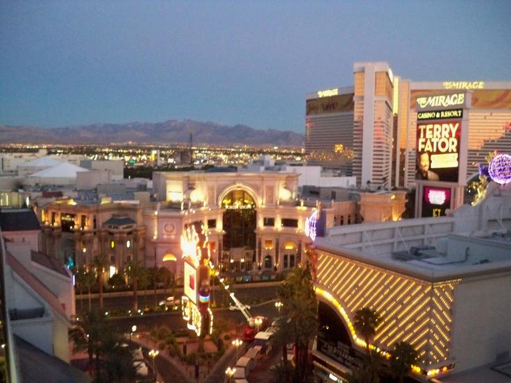 Imperial Palace ..Las Vegas...at Dawn.