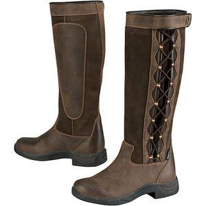 Dublin Pinnacle Boots  Great boots, adjustable calf so they can be worn with breeches OR bulky jeans!