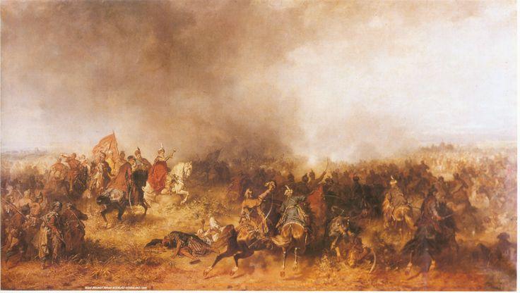 Battle of Vienna, Jozef Brandt (1841-1915), 1873.