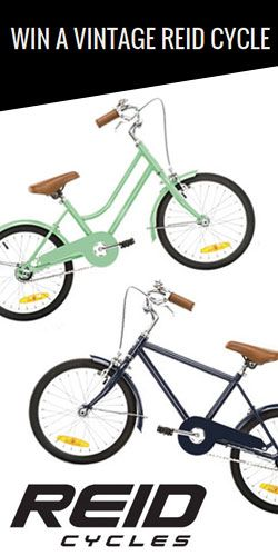 Get in to #WIN 1 of 5 Vintage #Bikes from Reid Cycles! #competition