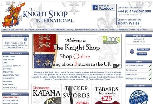 The SBG Directory of the best sword sellers in Europe