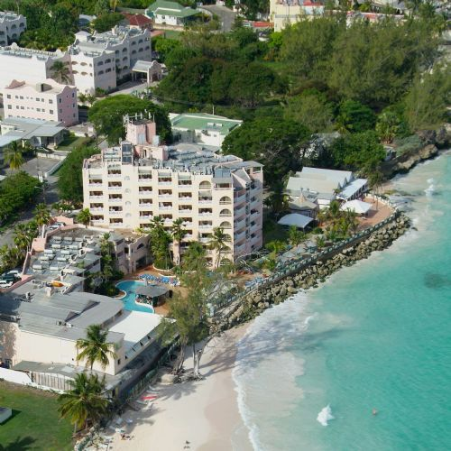 A friendly oceanfront resort, the Barbados Beach Club is in a peaceful location that's not too far from St Lawrence Gap or the sandy beach. Recent renovations have modernised the comfortable rooms