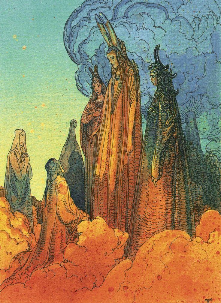 La Divina Commedia di Dante Paradiso - Moebius