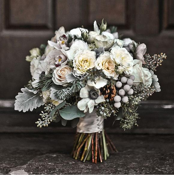 Winter Loveliness Grey Likes Weddings Loverly