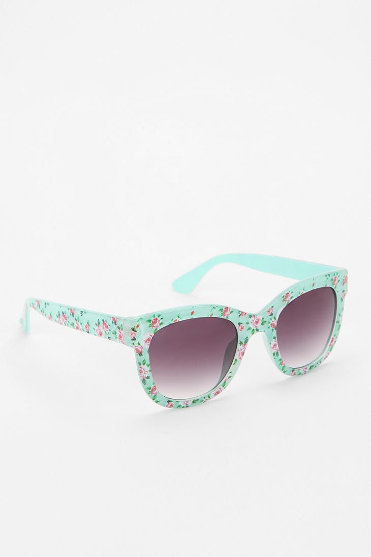 Ditsy Floral Sunglasses #urbanoutfitters