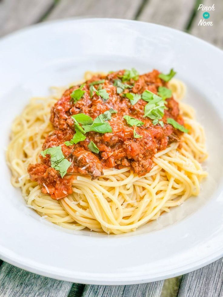 syn free spaghetti bolognese | slimming world-1