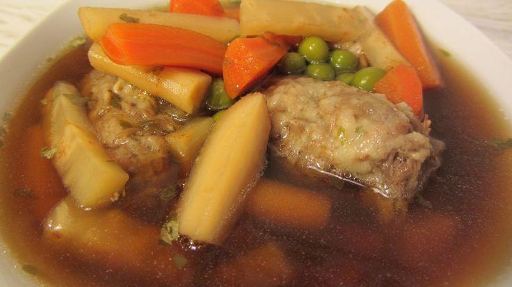 Fás galuska recept kacsanyakból (levesbetét)