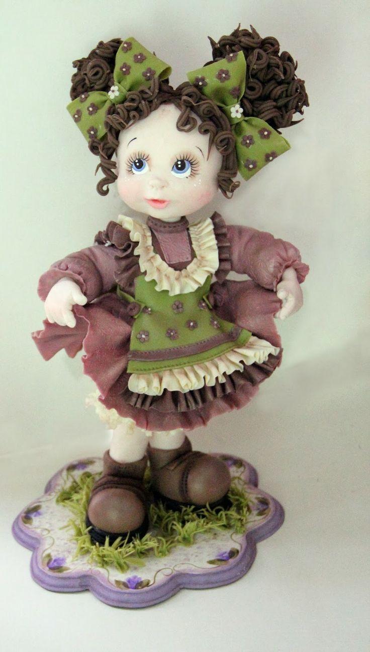 Pasta Flexible Lulu Mendoza: Modelado de muñecas