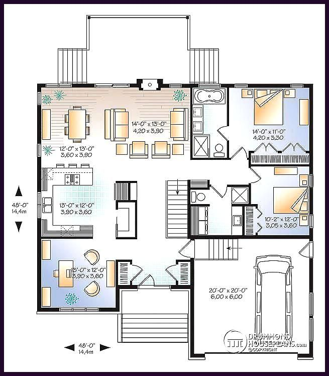 Small Modern Bungalow House Plans Small Modern Bungalow House Plans Want To Build Your Own Home You Ve L Home Design Floor Plans House Plans Floor Plan Design