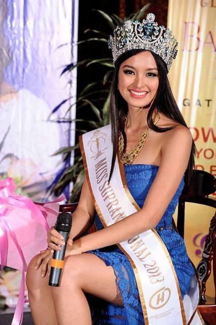 Mutya Datul -- 2013 Miss Supranational Title Holder