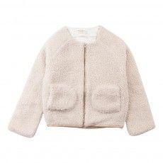 Amelie Pockets Jacket Ivory