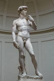 MICHELANGELO- David (1501-04) Marmo @Firenze, Galleria dell'Accademia