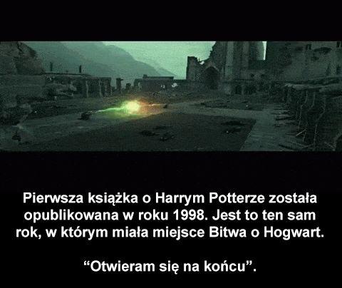 "Ciekawostki o serii ""Harry Potter"""