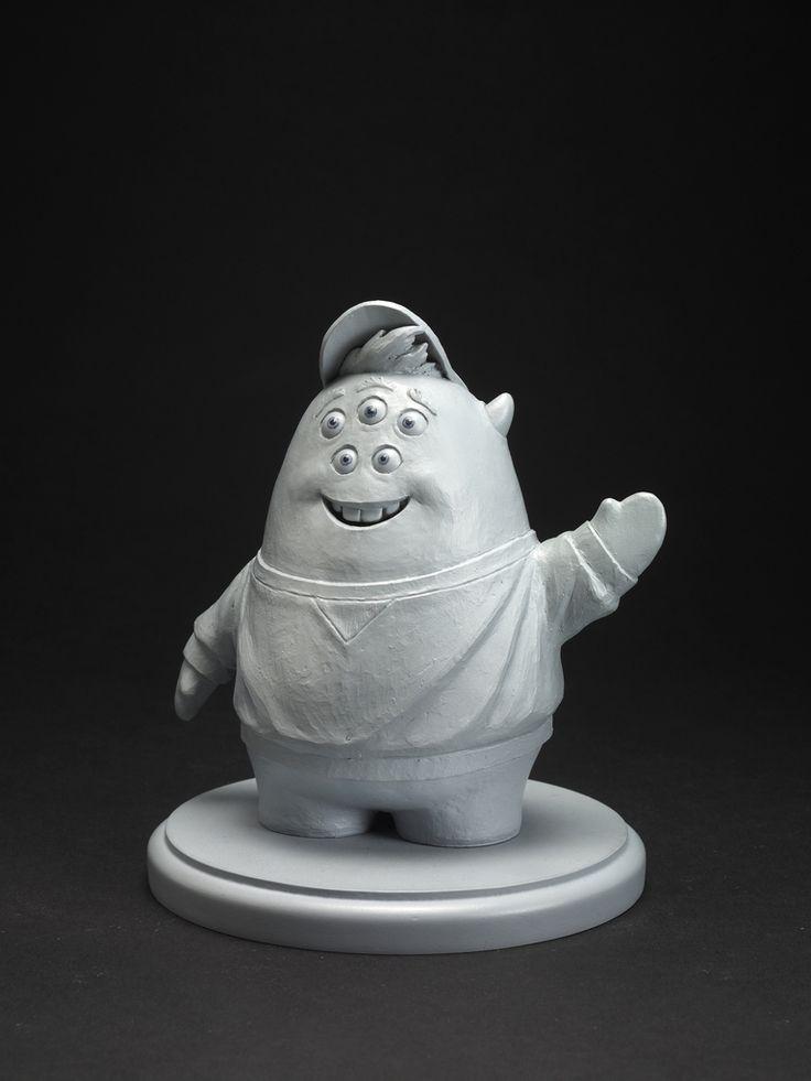 Concept Art, Squishy, Monsters University, 2013