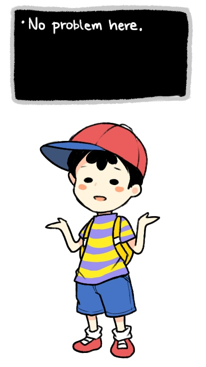 Ness - Mother 2 ♡   Fuzzy Pickles   Mother games, Super smash bros
