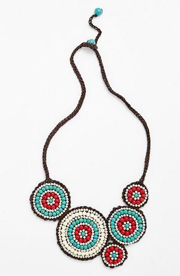 Panacea Howlite Bib Necklace | Nordstrom