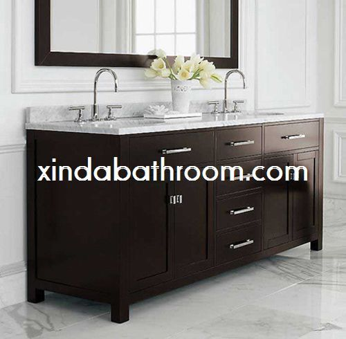 Pic On Xinda Bathroom Cabinet Co LTD provide the reliable quality double sink vanity inch