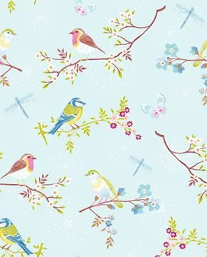 Pip Early bird Tapet