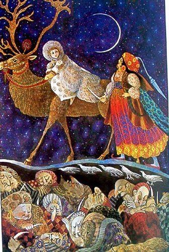 Errol le Cain, the Snow Queen.: