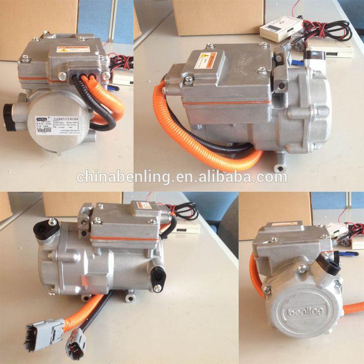 DM27A1 27cc 312V DC benling electric scroll compressor electric car compressor small displacement turck cab sleep compressor