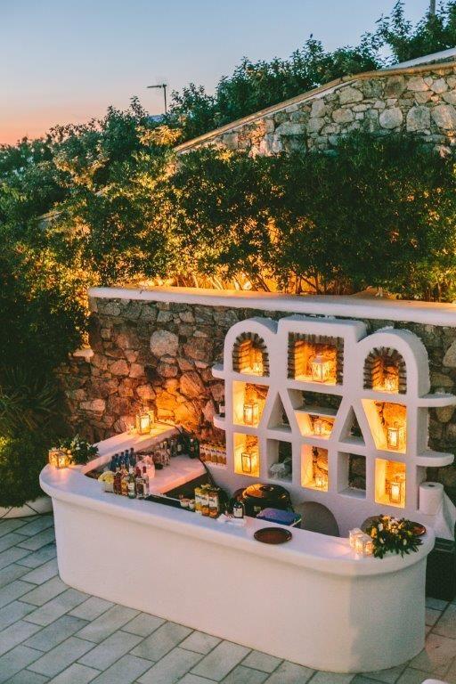 Mykonos Wedding   Exclusive Greek Island Weddings by Stella & Moscha   Bespoke Wedding Design   Photo by George Pahountis