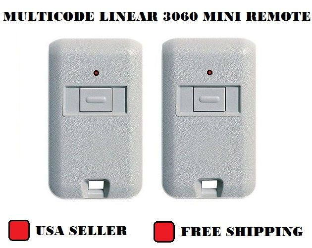 3060 Multicode Remote Garage Door Mini Transmitter 300mhz 3089 4120 Comp Linear 615150986663 Ebay Garage Door Opener Remote Garage Door Remote Gate Remote