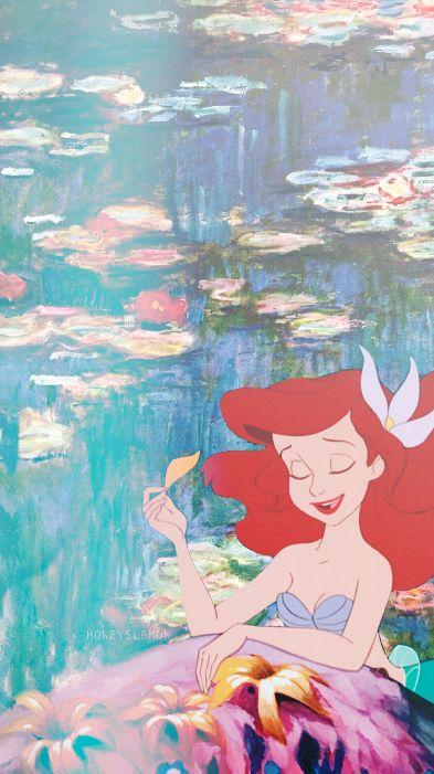 honeyslemon Some iPhone Disney amp Monet wallpapers Please like reblog ...