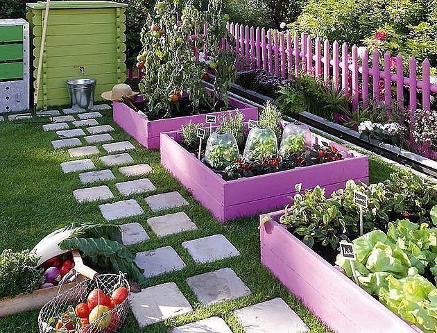 Как обустроить высокие грядки в огороде