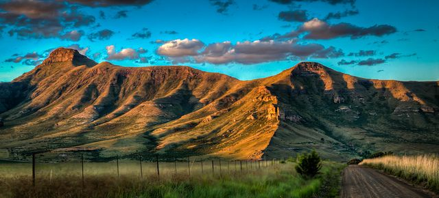 View from Clarens, Free State