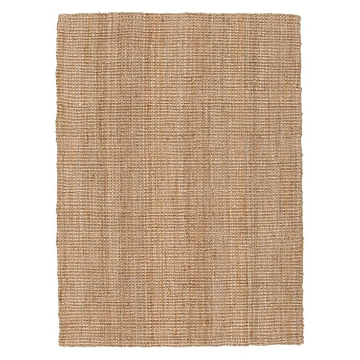 Torpoint Chunky Weave Jute Rug, Natural by Rug Culture   Zanui