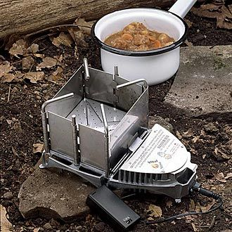 """The """"Survival Stove"""" - For All Situations Burn any solid fuel - anywhere, anytime"""