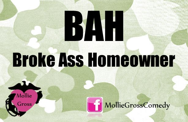 military humor, mollie gross military wife comedy, military jokes, military marriage jokes, military marriage humor