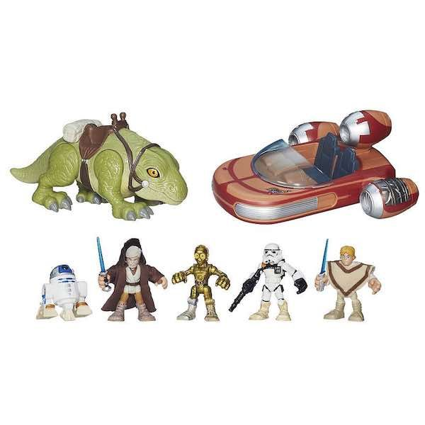 Check out this deal at Kohl's! If you are excited about the new Star Wars Film, get this Star Wars Galactic Heroes Landspeeder Adventure Pack for only $29.99! It is on sale for $39.99! Normally $69.99! Just use promo code PRESENTS10 to save $10.00 of a sitewide purchase of $30.00 or more! That brings the …