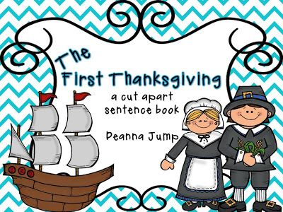 Mrs Jump's class: Activities for Thanksgiving:  November is one of my favorite months so I have lots of things to share.  We've been learning all about the First Thanksgiving.  Click on the picture to download the FREE book.